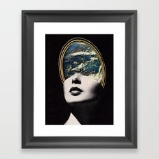World in your mind Framed Art Print