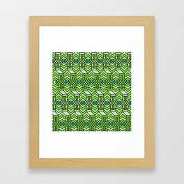 Op Art 122 Framed Art Print