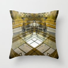 lever handle puller Throw Pillow