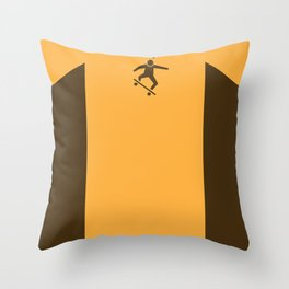 WTF? Skate! Throw Pillow