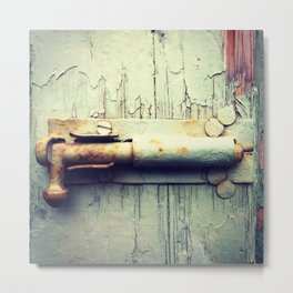 Unbolted Metal Print