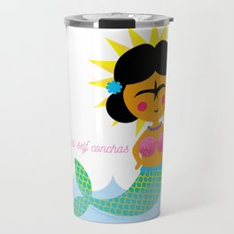 Don't be so self conchas Travel Mug