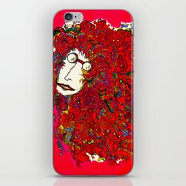 Moon Man iPhone Skin