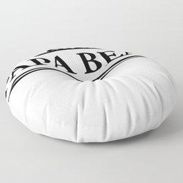 Papa bear Floor Pillow