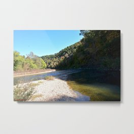 Where Canoes and Raccoons Go Series, No. 19 Metal Print