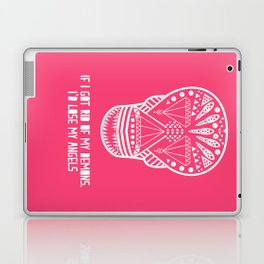 Demons / Angels - S k u l l - no text Laptop & iPad Skin