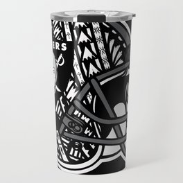 Poly Style Raiders Travel Mug