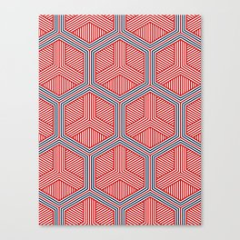 Hexagon No. 2 Canvas Print