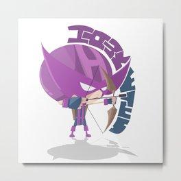 Hawkeyes (Style) Metal Print