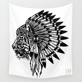 Chief of Pride  Wall Tapestry