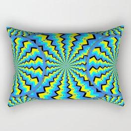 Hacking Visual System Optical Illusion Rectangular Pillow