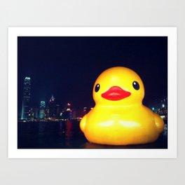 Super-sized Rubber Ducky Art Print