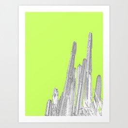 Lime Cordial Art Print