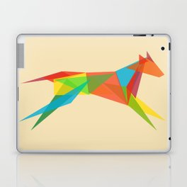 Fractal Geometric Dog Laptop & iPad Skin