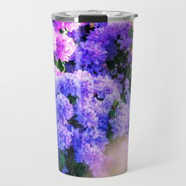 Purple Sun Spots Travel Mug