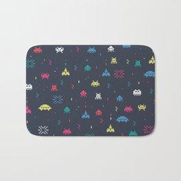 Space invader Bath Mat