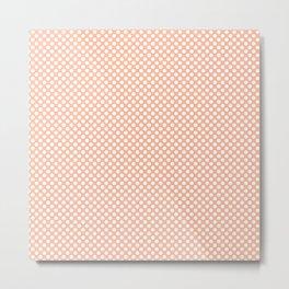 Prairie Sunset and White Polka Dots Metal Print