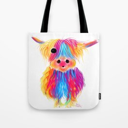 HiGHLaND CoW PRiNT SCoTTiSH ' MaTiLDa ' BY SHiRLeY MacARTHuR Tote Bag