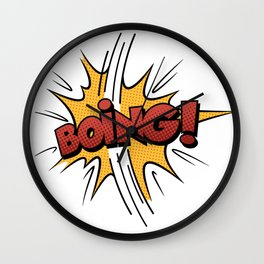 Boing ! Wall Clock
