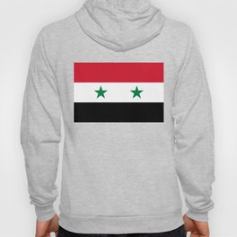 Syrian flag - may PEACE prevail Hoody