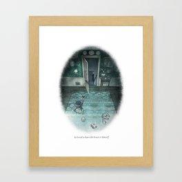 Behind You 61 Framed Art Print