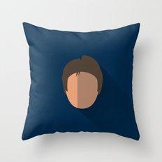 Han Solo Minimalist Poster Throw Pillow