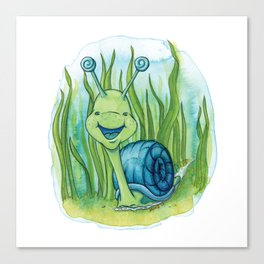Seymour Snail Canvas Print
