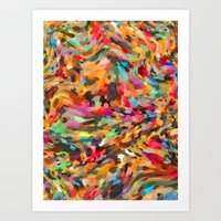 Mixed Seeds and Spices   Art Print