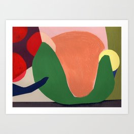 Shapes and Colors no.9 Art Print