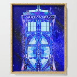 The Tardis Serving Tray