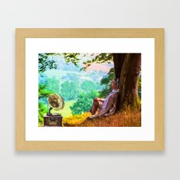 Out of time - Down time Framed Art Print
