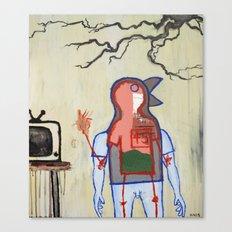 Terrestrial Fella Broadcasting Canvas Print