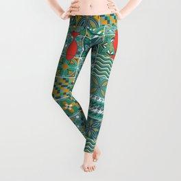 Azulejo Leggings
