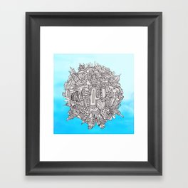 Small World Framed Art Print
