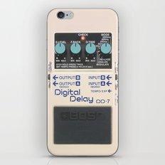 Digital Delay iPhone & iPod Skin