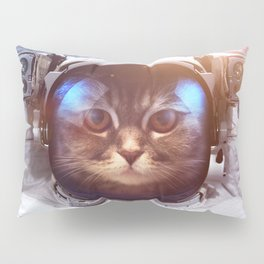 Cat in space Pillow Sham