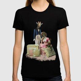 Funny Animal Couple T-shirt