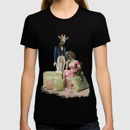 Funny Animal Couple T-shirt