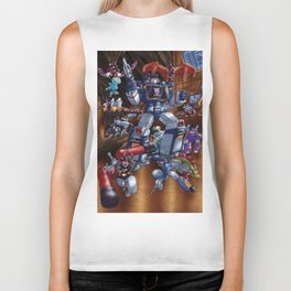 Cries and screams are music to my ears Biker Tank