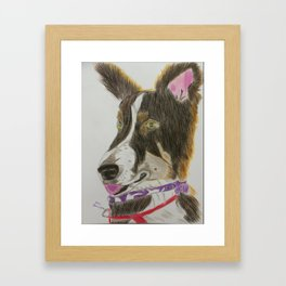 Macie Framed Art Print
