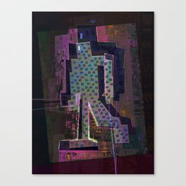 Experimental Robotic Lab Canvas Print