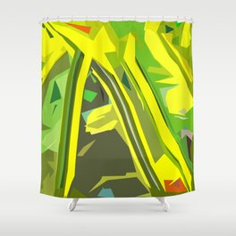 Gratitude Speedway Shower Curtain