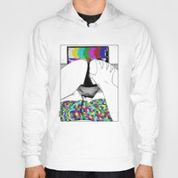 apollonia Hoodies featuring asc 511 - L'extatique (The ecstatic) by From Apollonia with Love