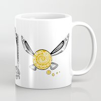 majora Mugs featuring Zelda legend - Navi by Art & Be