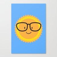 sunglasses Canvas Prints featuring Sunglasses by Danielle Podeszek