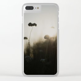silhouetted ... Clear iPhone Case