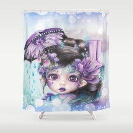Gloomy Gertrude - MunchkinZ Shower Curtain