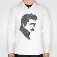 elvis Hoodies featuring Elvis by Alessia Bogdanich