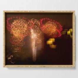Brooklyn Fireworks, Huge firework display in NYC Serving Tray