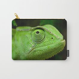Green chameleon Carry-All Pouch